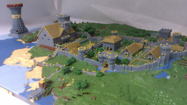 219095-Minecraft3DVillage-Header