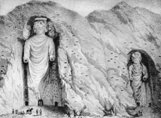 Buddhas_of_Bamiyan_in_19_century