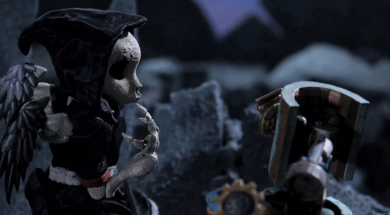 3D Printed Death and of the Robots