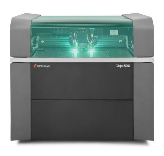 Objet 500 Connex3 3D Printer Polyjet Resin Stratasys