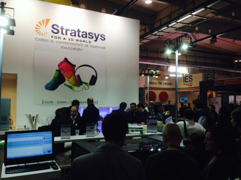 Stratasys stand