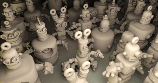 thinker thing robots 2