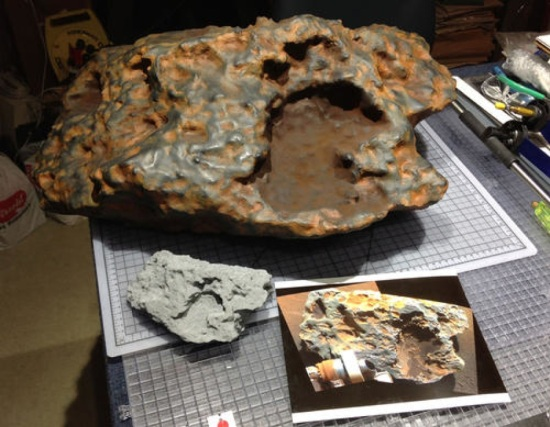 finished_meteorite_3D_printed