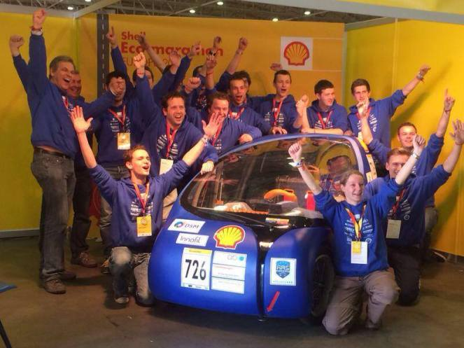 shell eco marathon 3d printed car 3