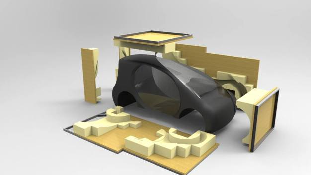 shell eco marathon 3d printed car 4