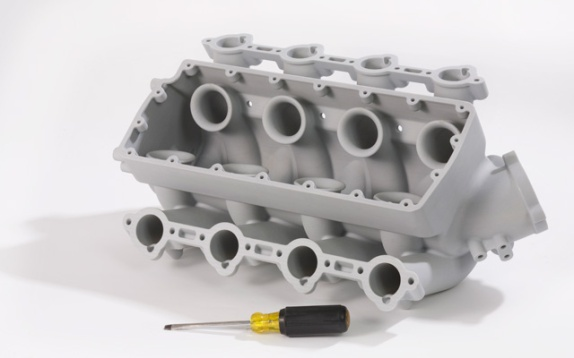 3D-printed-engine-block
