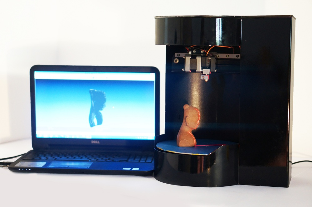 machine and laptop scanning
