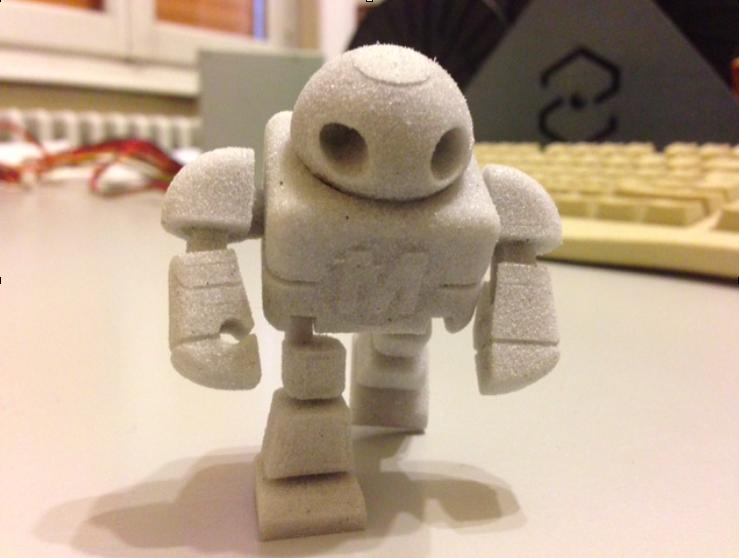 MakerFaireRome Sharebot SLS