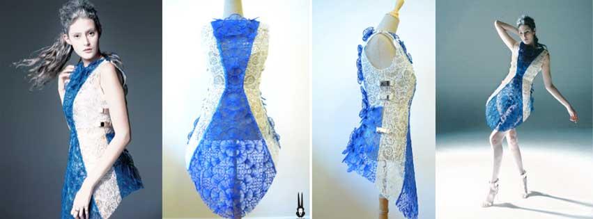 SHIGO-3Doodled-shell-dress