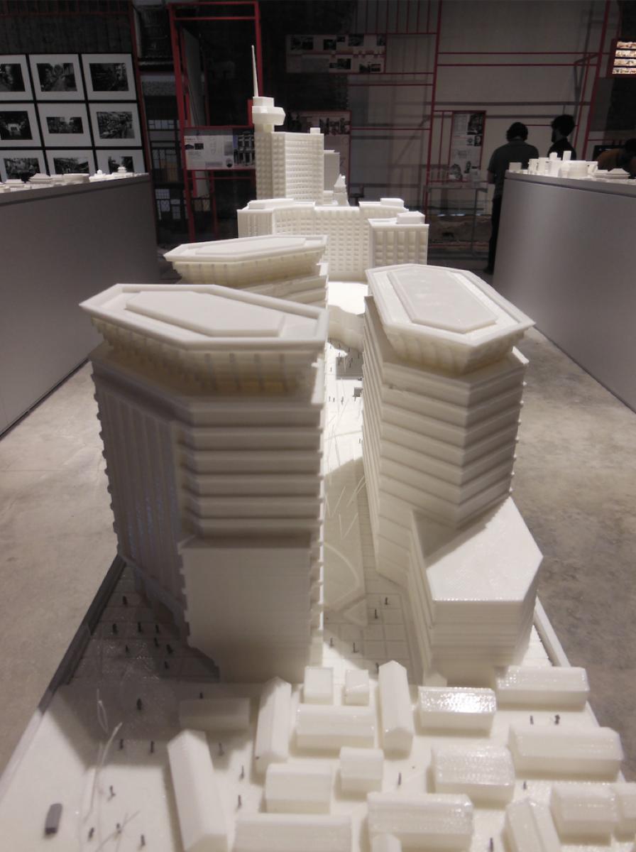 Il fab lab venezia stampa pechino in 4d per 35 metri for Architettura 3d