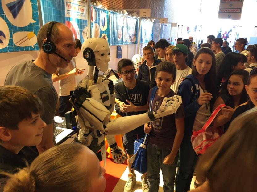 children robot