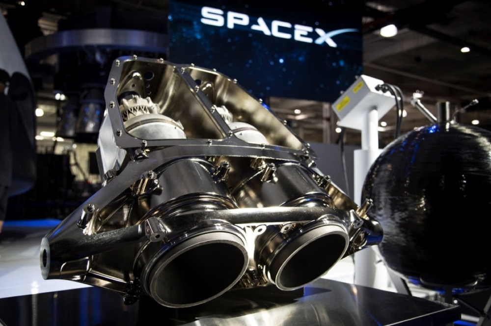 Space X superdraco