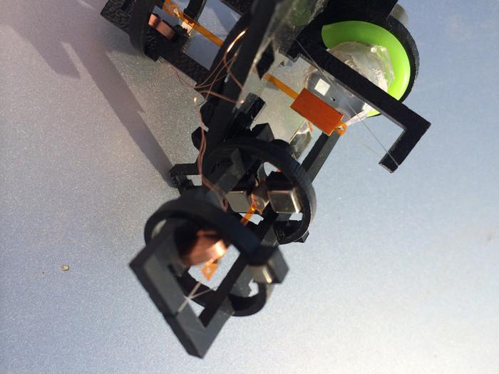 magnetic damper addon