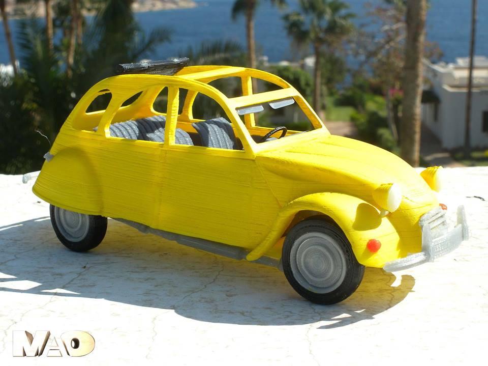 Mao 2CV Mini Cooper1