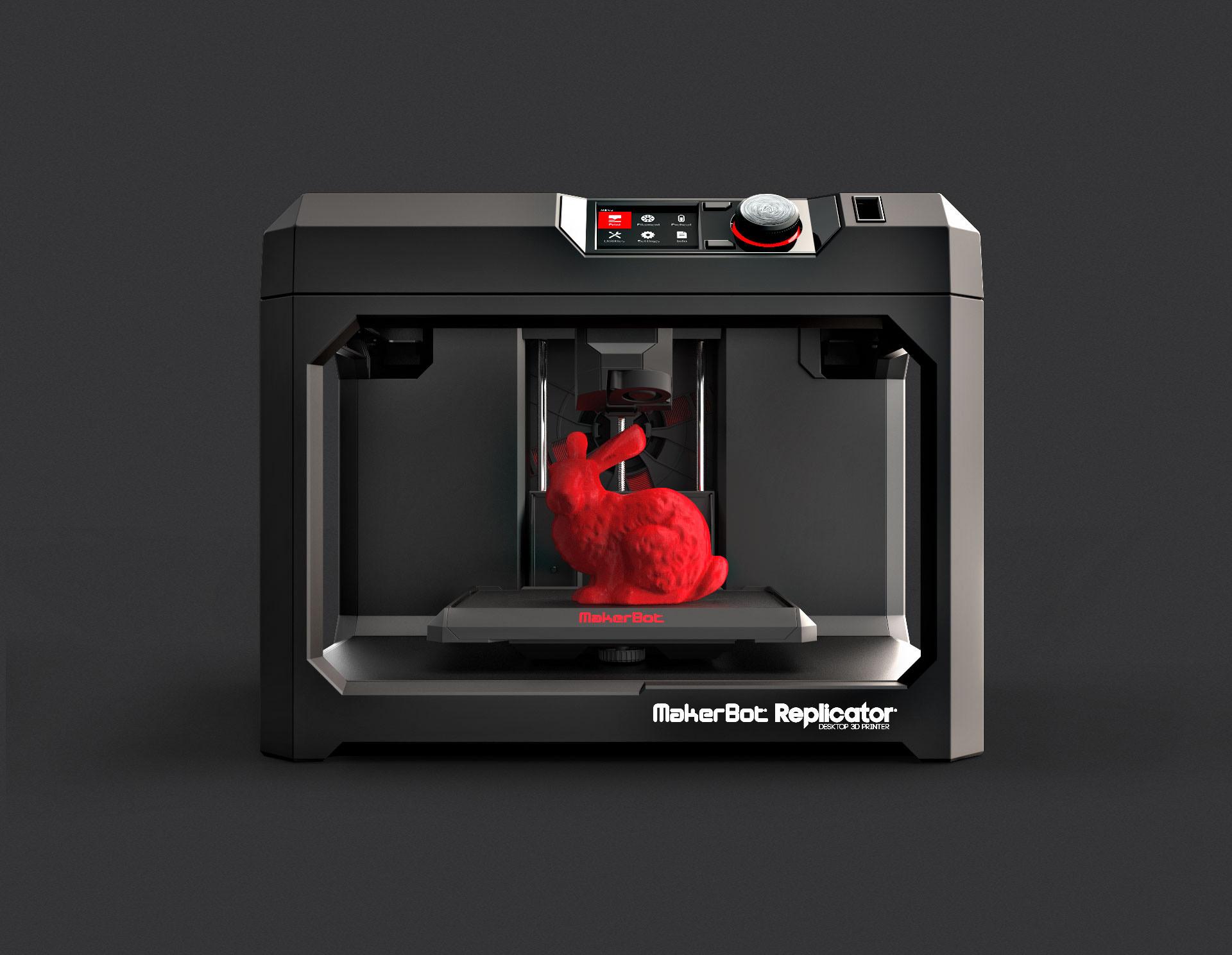 6 MakerBot Replicator 5