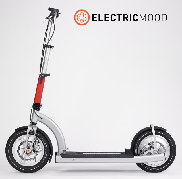 ELECTRICMOOD - 3D pritned scooter feature