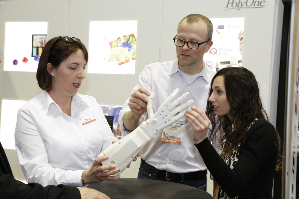 PolyOne prosthetic hand