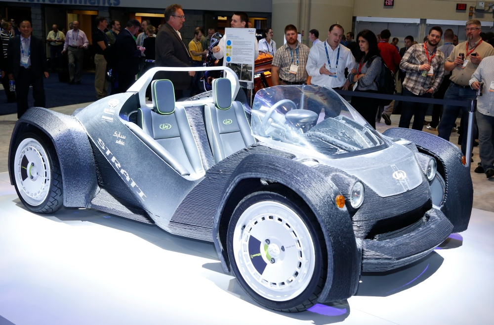SABIC 3D printed car