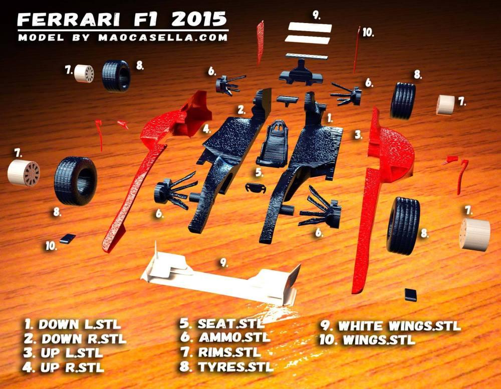 Ferrari F1 20155